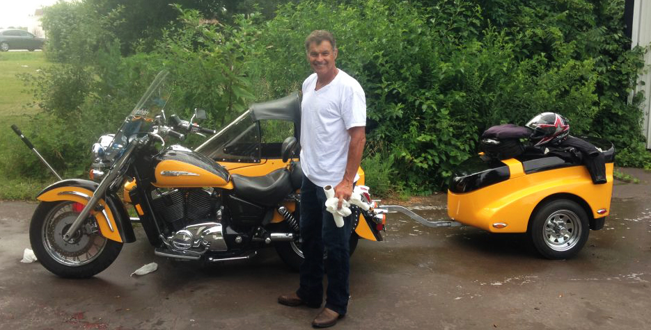 Tim, the amazing bike washer
